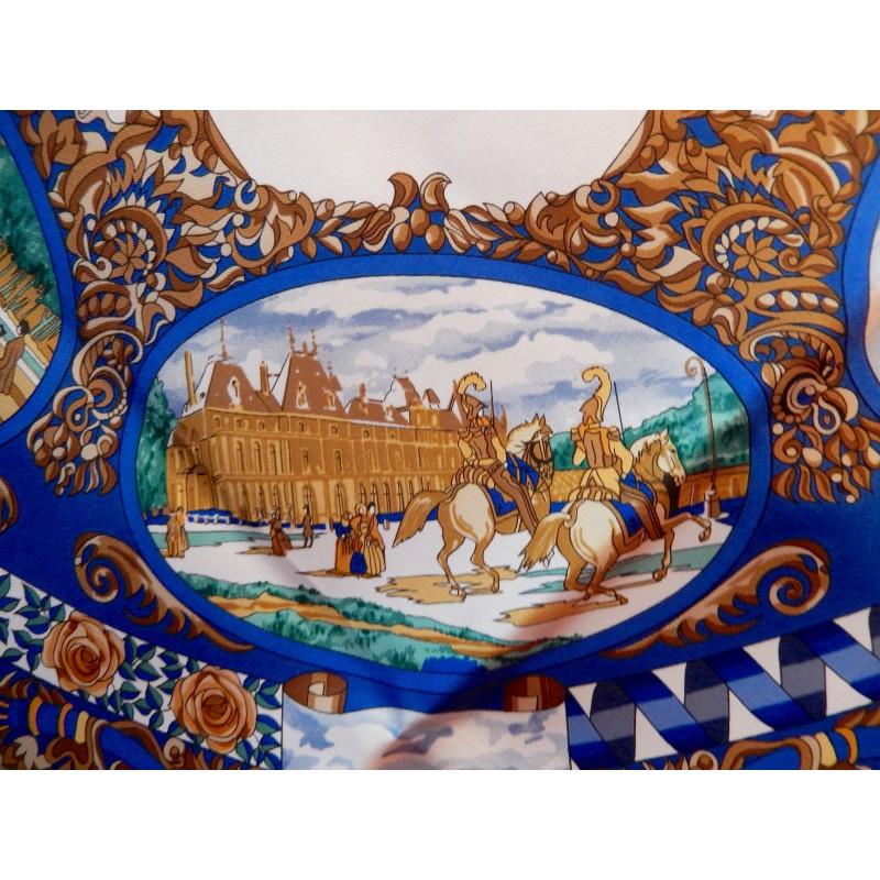 Carré Hermès L entente cordiale château d EU 1843 Zoom En solde. Précédent.  Suivant 12db307e6bb