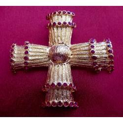 Broche, pendentif Christian...