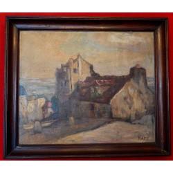 Huile sur toile Ginette Rapp