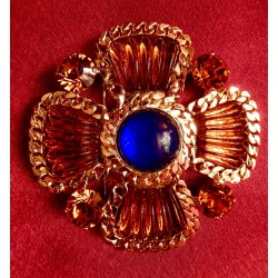 "Broche Chanel ""Topaze"""