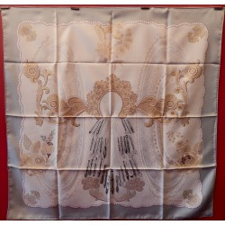 Carré foulard Hermès Doigts...