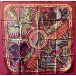 Carré foulard Hermès Trésor...
