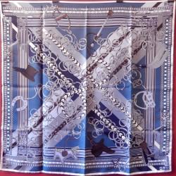 Carré foulard Hermès Brides...