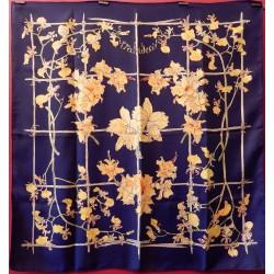 Carré foulard Hermès Orchidées