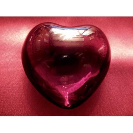 Baccarat coeur rouge