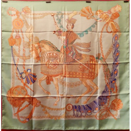 Carré foulard Hermès Le timbalier