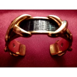 Bracelet Hermès rigide lézard