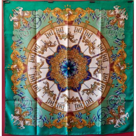 Carré foulard Hermès Lunapark