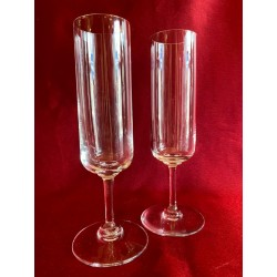 Flûtes à champagne Saint Louis