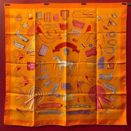 Carré foulard Hermès Album de colportage