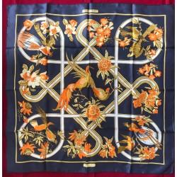 Carré foulard Hermès Caraïbes