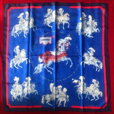 Carré foulard Hermès Carroussel