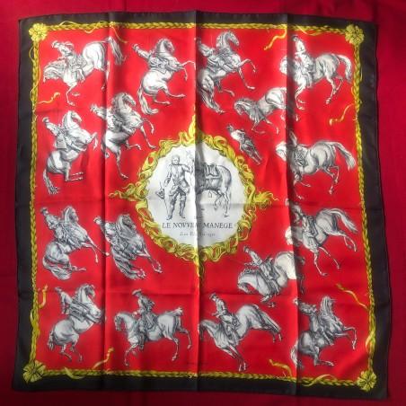 Carré foulard Hermès Le nouveau manege