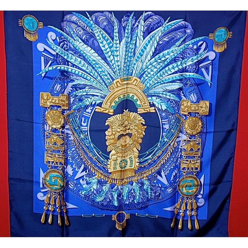 3e26074c6a95 Carré Hermès Mexique - Le grenier d amatxi