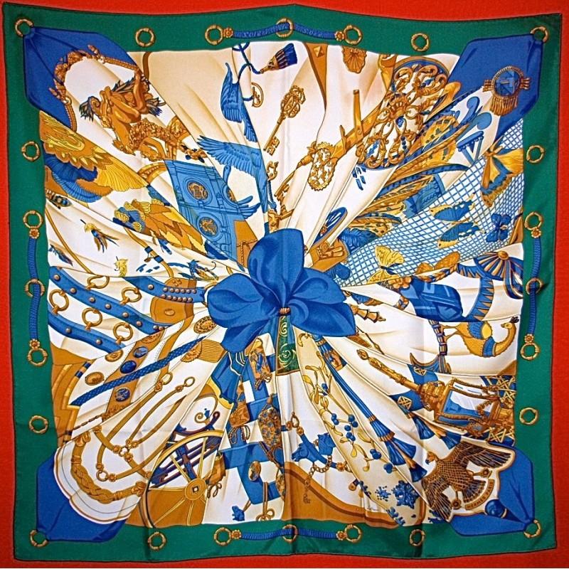 Carré Hermès Soleil de soie - Le grenier d amatxi 1fbe5f9915d