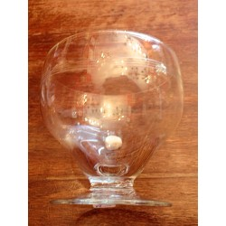 Verres à eau cristal art-déco
