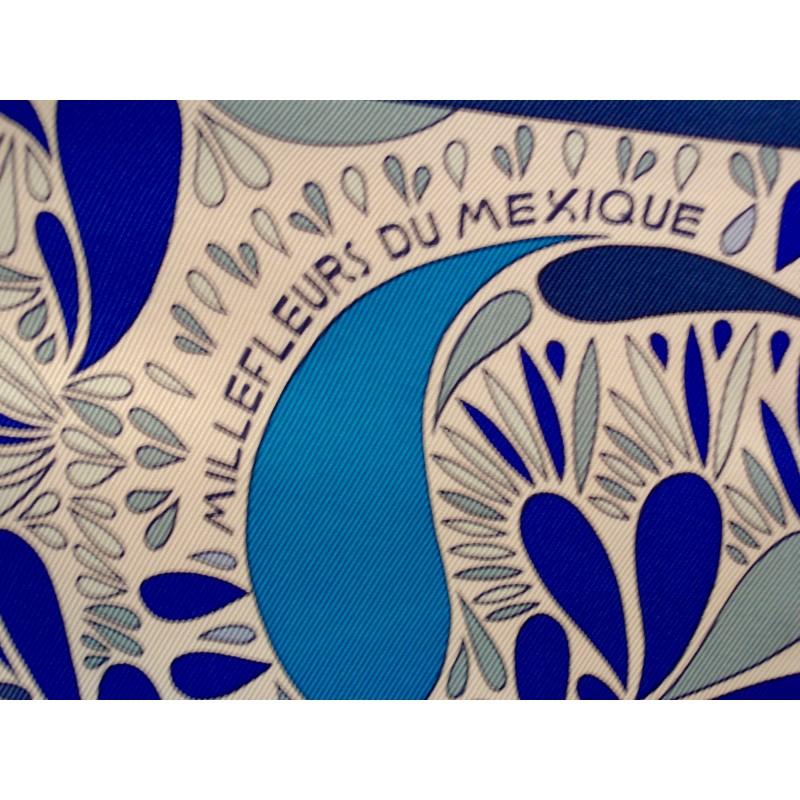 1a382a2e0c92 Carré Hermès Millefleurs du Mexique - Le grenier d amatxi