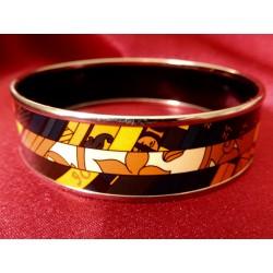 Bracelet émail Hermès...