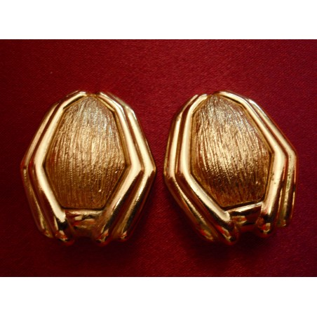 Boucles d'oreilles semi-rigide Yves Saint Laurent